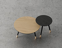 Bison side tables