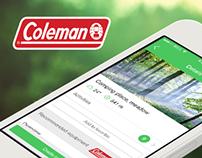 Coleman iPhone App