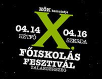 Academy Festival logos & flyers