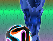 World cup and ball