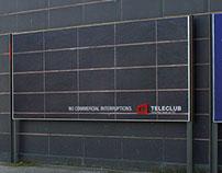 Postercampaign for Teleclub – Advico Y&R