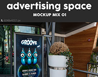 Advertising Space Mock Up's