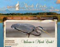 WEBSITE DESIGN: Marsh Creek Country Club