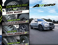 Internship Work: Firebrain Inc. 2015 - Atturo Tires