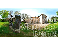 This is a 360° virtual tour of the museum Maurice Denis