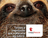Copyhouse - Impression that the planet is thankful