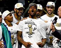 NBA Championship Locker Room Hat 2014