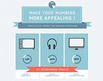 BLEND   Infographics work showcase