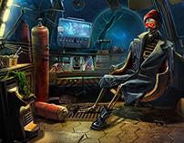 game scenes II