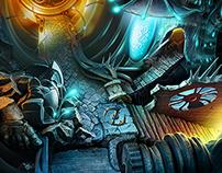 game scenes III