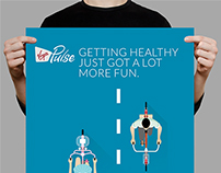 Posters for Virgin Health App