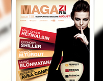 Multipurpose Magazine Cover Template