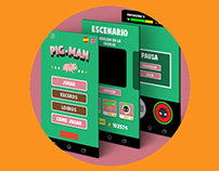 Design 'Pig-Man' App Game