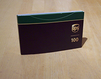 UPS Centennial commemorative pin package