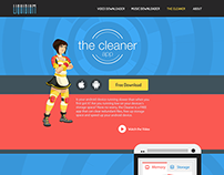 The Cleaner App Website