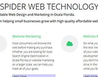 Spider Web Technology Web Design
