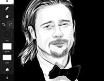 Brad  Pitt -adobe ideas