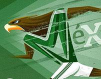 ilustraciones inspiradas en el futbol