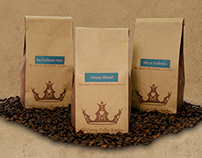 Old Crown Coffee Roasters Branding - Student Work