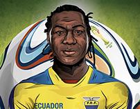 FELIPE CAICEDO - ECUADOR - ASES DE AMERICA