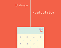 DAILY UI // calculator design