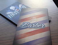 Barber Shop Business Cards