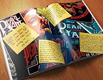 Pearl Jam Magazine Layout