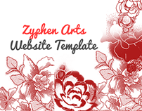 Zyphen Arts - Website Template