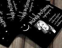 Logo Design and Business Card Design for local musician