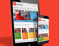 Powerpanels responsive website