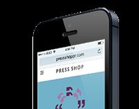 Press Shop PR Website