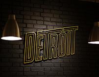 DETROIT SKATESHOP - BRANDING & LOGO DESIGN