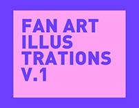 FAN ART Personal illustrations