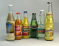 3D bottles modeling