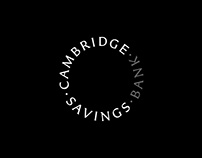 Cambridge Savings Bank Rebrand
