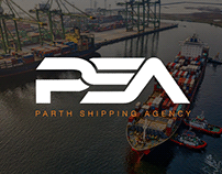 Parth Shipping Agency | Branding