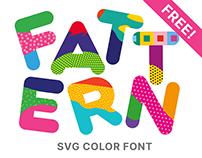 Fattern Color SVG Font (FREE)