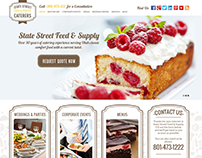 Food Catering Company Website