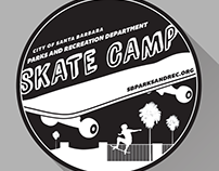 Skate Camp T-Shirt Design