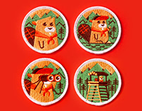 Beaver Scout patches
