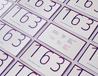 163 Boutiques Visual Identity