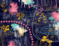 iPad Artwork- Spring 2015 (Adobe Mobile Apps)