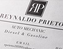 Quick Mechanic Resume & Business Card