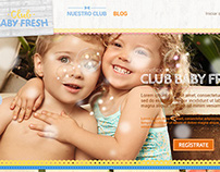 Club Baby Fresh Website