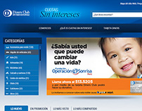 Diners - Cuotas sin intereses