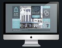 The Art Deco Building Identity and Website