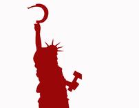 Soviet  Liberty Statue