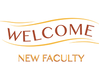 New Faculty Welcome Banner