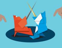 Australian Origami Festival campaign