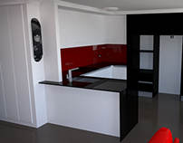 3D Visualisation - Kitchen Remodel [WIP]